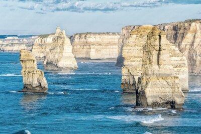 Papiers peints Superbe vue aérienne de Twelve Apostles, Victoria - Australie