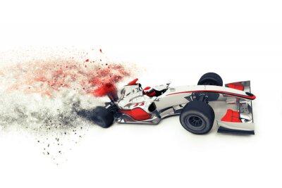 Superfast 3D generic race car