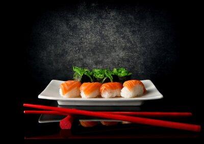 Papiers peints Sushi, baguettes