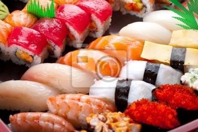 Sushi et rouleaux