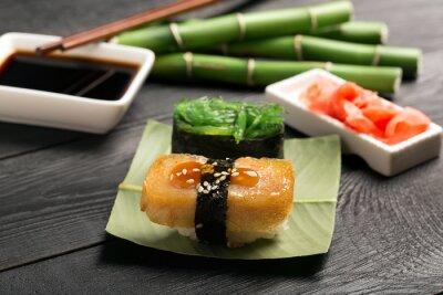 Papiers peints Sushi, japonaise, omelette