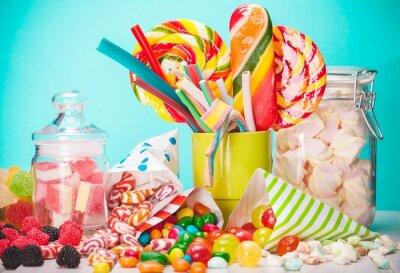 Papiers peints Sweet, du sucre, des sacs.