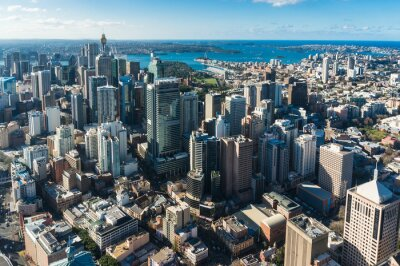 Papiers peints Sydney Central business district depuis l'air