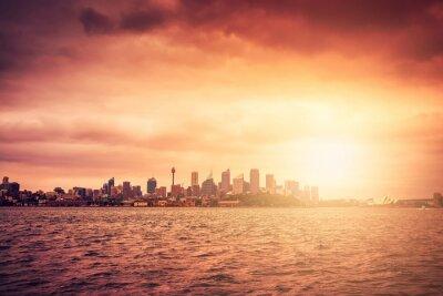 Papiers peints Sydney, Horizon, Coucher soleil