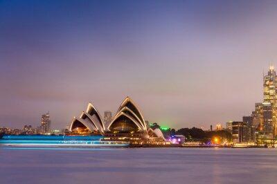 Papiers peints SYDNEY - LE 12 OCTOBRE 2015: L'opéra iconique de Sydney est un mu