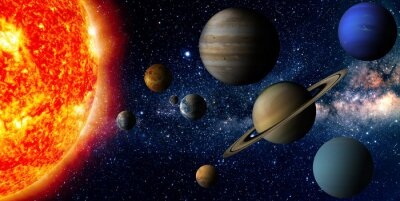 Papiers peints Système solaire