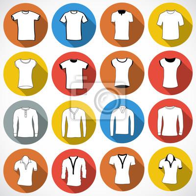 T-shirt icône icône, illustration vectorielle. Appartement style de conception