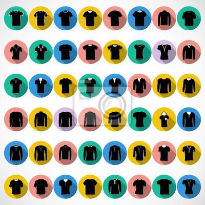 T-shirt icône Vecteur