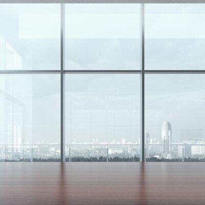 Papiers peints Table et fenêtre Office