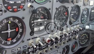 Tableau De Bord De Lavion Extra 300l Papier Peint Papiers Peints Panneau Composer Avion Myloview Fr