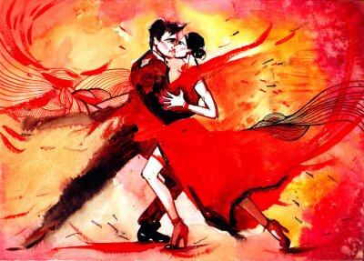 Papiers peints tango