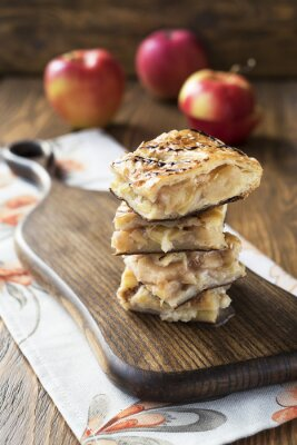 Papiers peints tarte aux pommes
