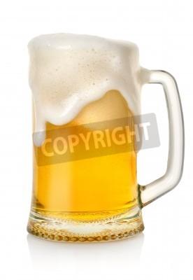 Papiers peints Tasse à la bière