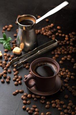 Papiers peints Tasse, café, café, haricots