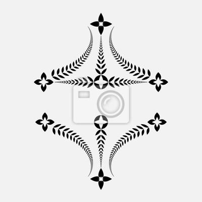 Tatouage Couronne De Laurier Ornement Decoratif Victoire Paix