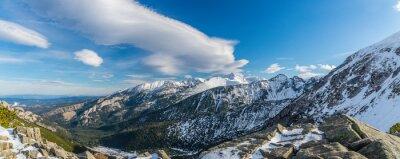 Papiers peints Tatra montagnes brumeux nuages