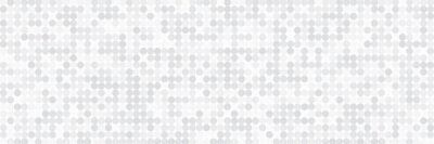 Papiers peints Technology banner design with white and grey arrows. Abstract geometric vector background with dot circle pattern for wide banner