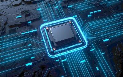 Papiers peints Technology chip