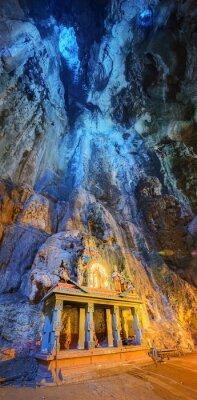 Papiers peints Temple, milieu, caverne, Batu, cavernes, temple, complexe, Kuala Lumpur