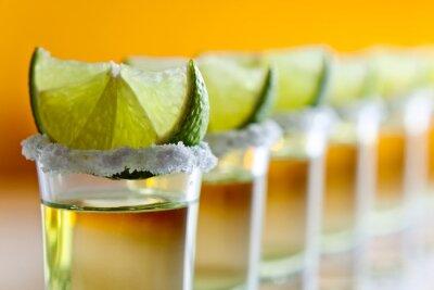 Papiers peints tequila, chaux et le sel