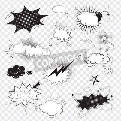 Papiers peints Texte, texte, comique, noir, parole, bulles, pop ...