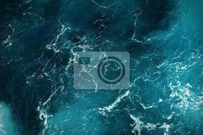 Papiers peints texture de l'eau de mer bleu profond