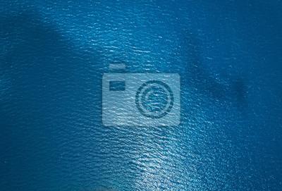 Papiers peints Texture de l'eau de mer bleue