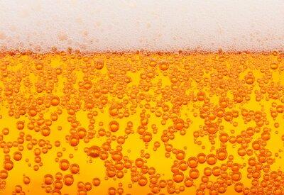 texture de la bière, transparente
