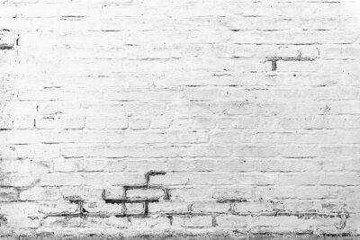 Papiers peints Texture de la brique avec des rayures et des fissures