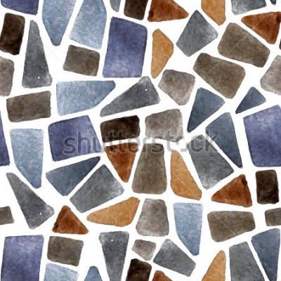 Papiers peints Texture de pierre transparente aquarelle pour vos créations
