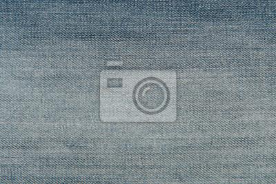 Texture de tissu en jeans denim bleu clair pour un fond ou un concept