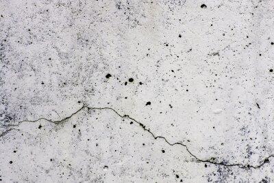 Papiers peints Texture di sfondo di un muro, dans ciment, con crepa che scorre orizzontalmente