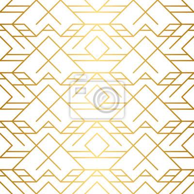 Texture Doree Motif Geometrique Sans Soudure Fond Dor Modele Papier