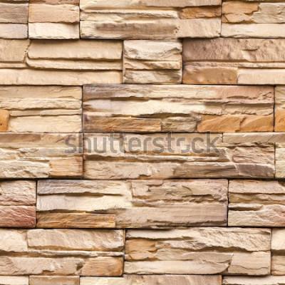Papiers peints texture et fond de mur en pierre sans soudure
