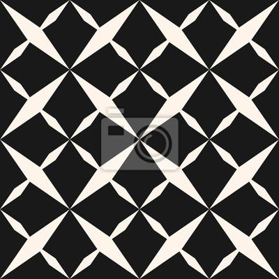 Texture Geometrique Abstraite Noir Et Blanc Avec Des Etoiles Papier