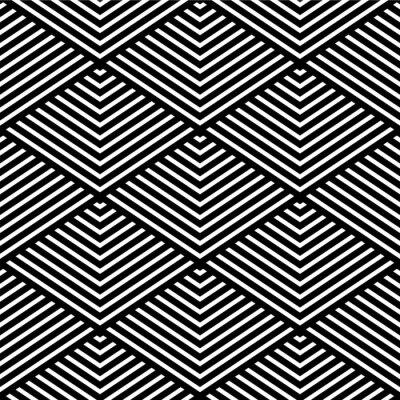 Papiers peints Texture géométrique sans soudure.
