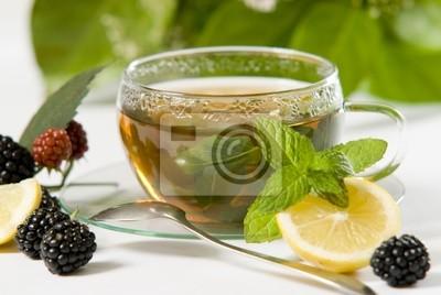 Thé au citron et mûre