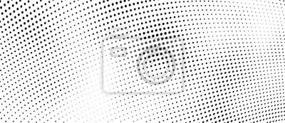 Papiers peints The halftone texture is monochrome. Vector chaotic background