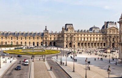 Papiers peints The Louvre Museum in Paris