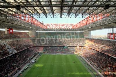 Papiers peints The San Siro stadium during an AC Milan football game