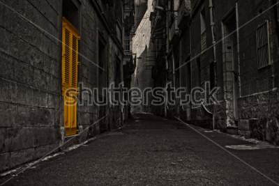 Papiers peints The Yellow Door