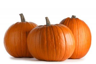 Papiers peints Three orange pumpkins