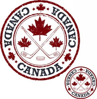 Papiers peints Timbre du hockey canadien.