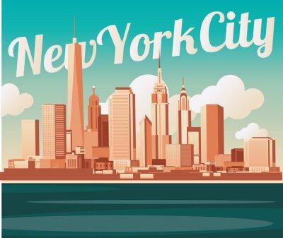 Papiers peints Toits de New York