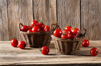 Papiers peints Tomates dans un panier