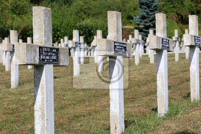 Papiers peints Tombes de guerre Commonwealth. Cimeti re militaire Française comprenant 328 tombes de Columèriens, d'Anglais, Hollandais et d'Africains morts pour la France en 1914-1918.