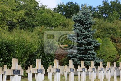 Papiers peints Tombes de guerre de Commonweatlth. Tombes de guerre Commonwealth. Cimeti re militaire Française comprenant 328 tombes de Columèriens, d'Anglais, Hollandais et d'Africains morts pour la France en 1914-