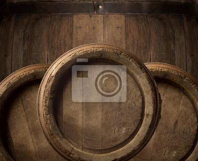 tonneau de bois