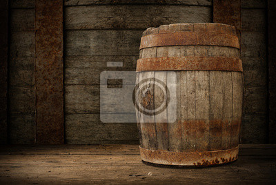 tonneau en bois