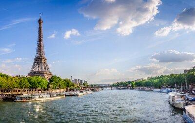 Papiers peints Tour Eiffel et pont d'Iéna